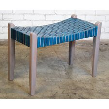 Hera Modern Rustic Wood Bench by Bungalow Rose