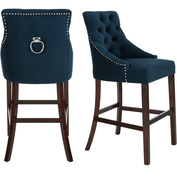 Ishaan 45 Bar Stool (Set of 2) by Darby Home Co