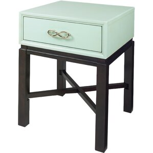 Falmouth Chairside Table by House of Hampton