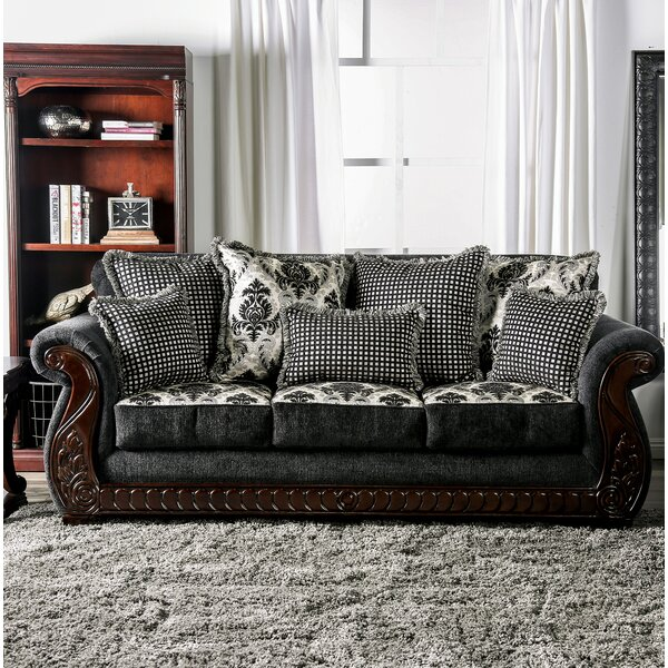 Renna Rolled Arms Sofa by Astoria Grand
