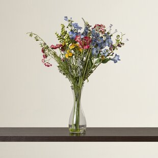 Tall flower arrangements wayfair garden silk flower arrangement mightylinksfo