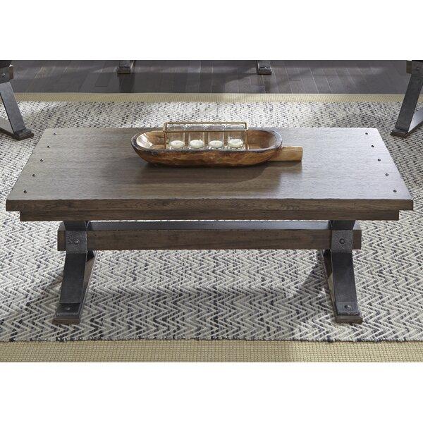 Pyburn Trestle Coffee Table By Gracie Oaks