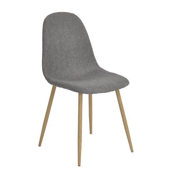 Charlton Vintage Upholstered Dining Chair (Set of 4) by Hazelwood Home
