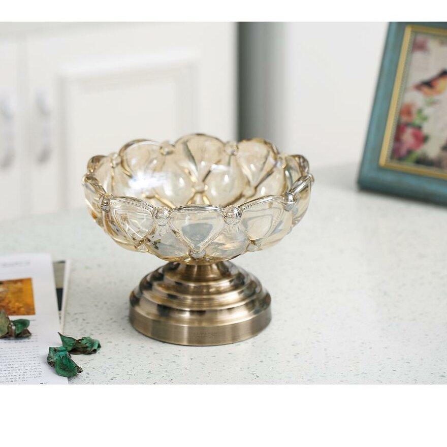 House Of Hampton Cookson Vintage High Quality Glass Candy Dish Wayfair