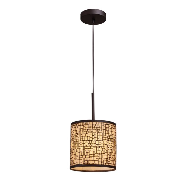 Pyla 1-Light Drum Pendant by Bay Isle Home