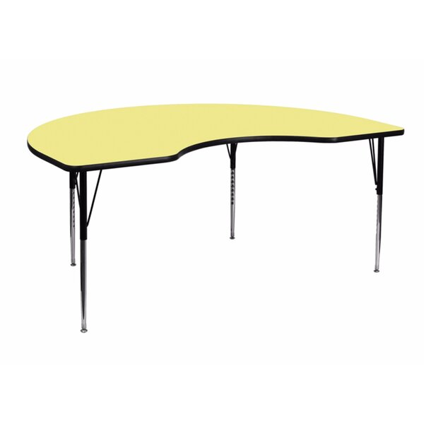 48''W x 72''L Kidney Activity Table by Offex