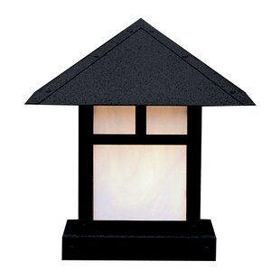 Trend Evergreen 1-Light Pier Mount Light By Arroyo Craftsman