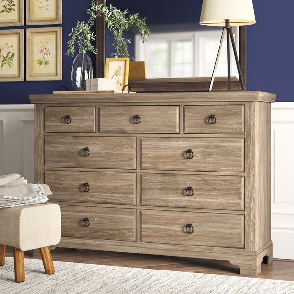 Calila 9 Drawer Standard Dresser Chest by Birch Lane™ Heritage