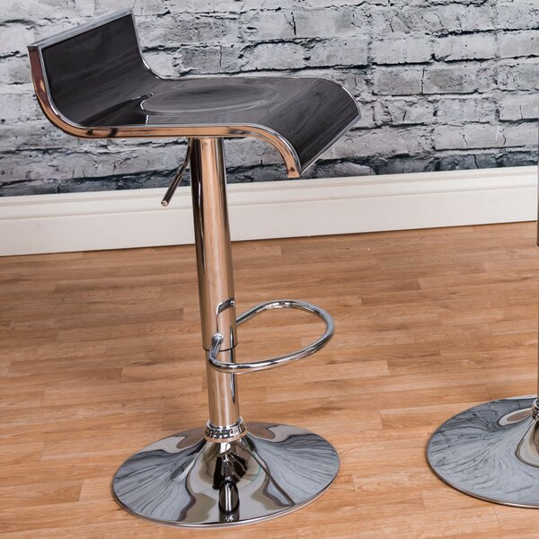 Adjustable Height Swivel Bar Stool by Vogue Furniture Direct