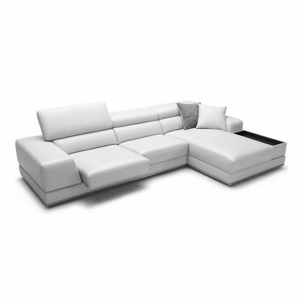 sc 1 st  Wayfair : leather sectional - Sectionals, Sofas & Couches