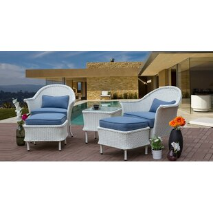 Groves Wicker 5 Piece Rattan Seating Group By August Grove