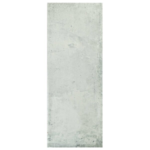 Byth 5.88 x 15.75 Ceramic Field Tile in Gray by EliteTile