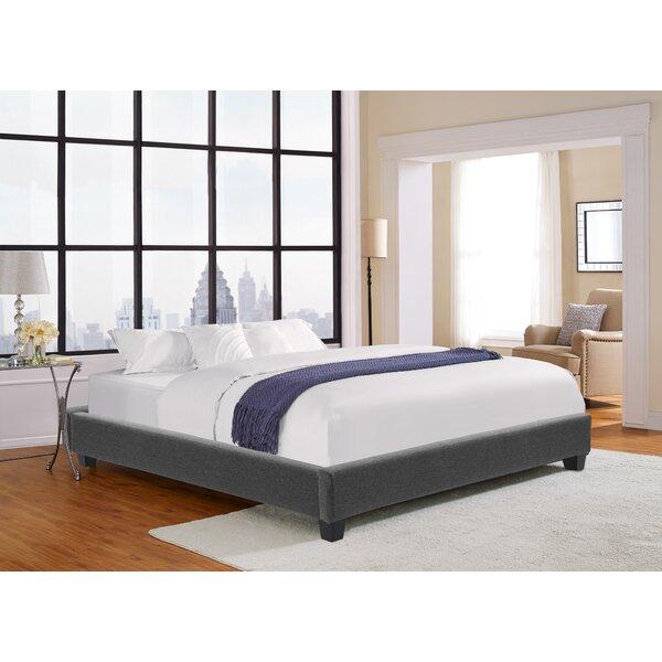 Leavell Upholstered Platform Bed by Ebern Designs