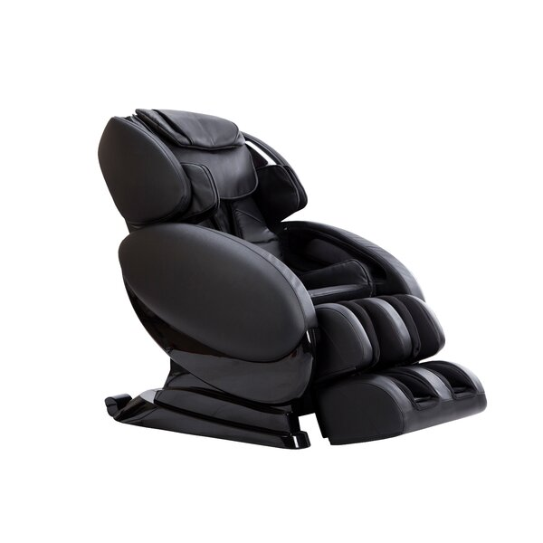 Relax Reclining Adjustable Width Heated Full Body Massage Chair By Latitude Run