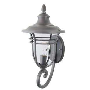 Best Reviews Ferrante 1-Light Outdoor Sconce By Charlton Home