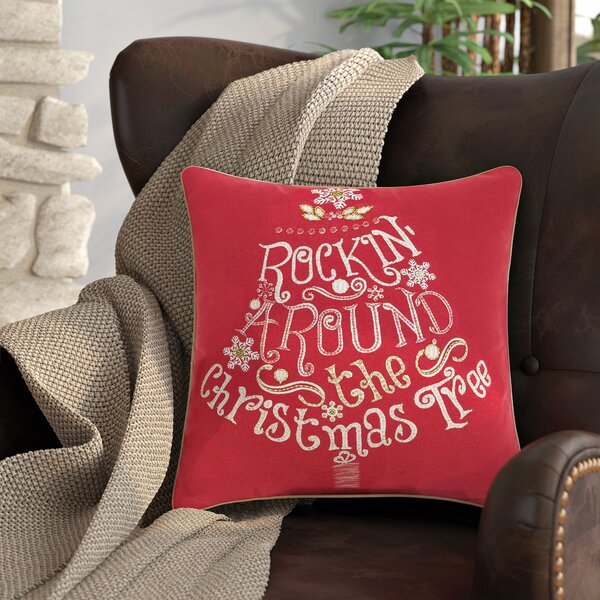 Corydon Square Cotton Throw Pillow by Red Barrel Studio