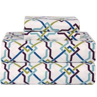 Best Celeste Home Ultra Soft Flannel Lattice Cotton Sheet Set ByCeleste Home