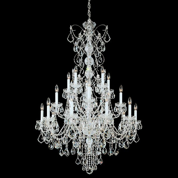 Century 20 - Light Candle Style Empire Chandelier by Schonbek Schonbek