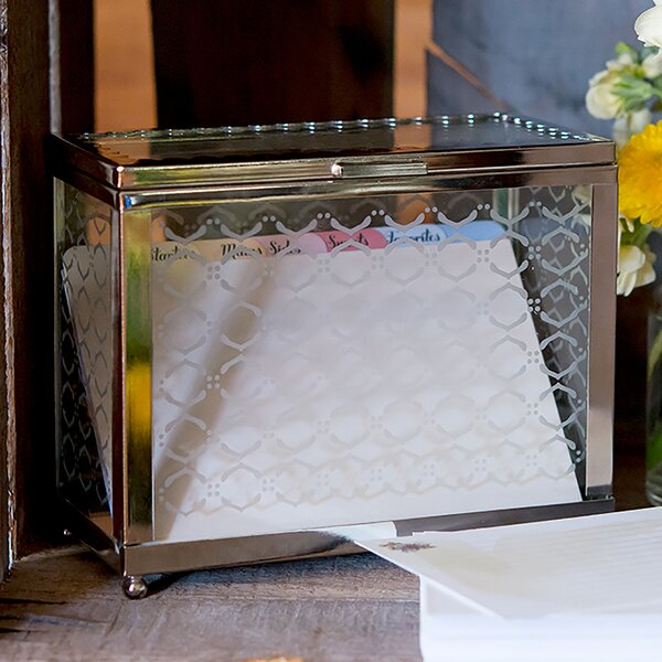Decorative Glass Box by Weddingstar