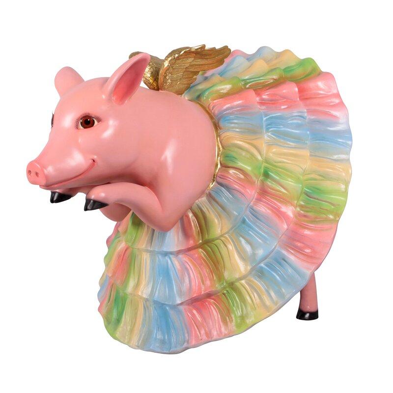 Pavlova Pig Ballerina Grande Animal Garden Statue