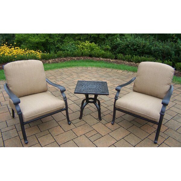 Bosch 3 Piece Sunbrella Conversation Set by Darby Home Co