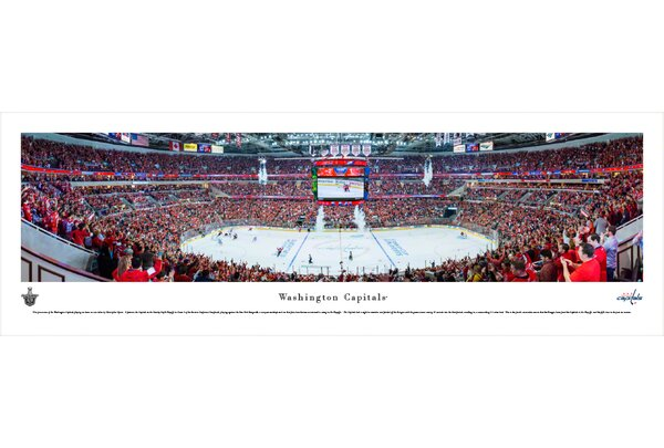 NHL Washington Capitals - Center Ice by Christopher Gjevre Photographic Print by Blakeway Worldwide Panoramas, Inc