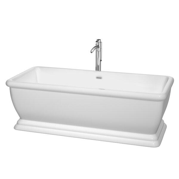 Candace 68.5 x 31 Soaking Bathtub by Wyndham Collection