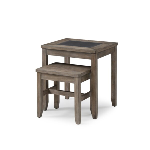 Kinch 2-Piece Nesting Tables by Ophelia & Co. Ophelia & Co.