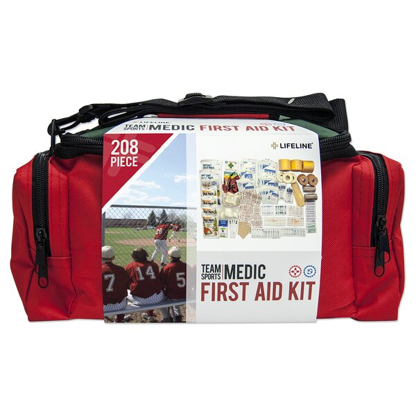 208 Piece Sports Medic Kit by Lifeline