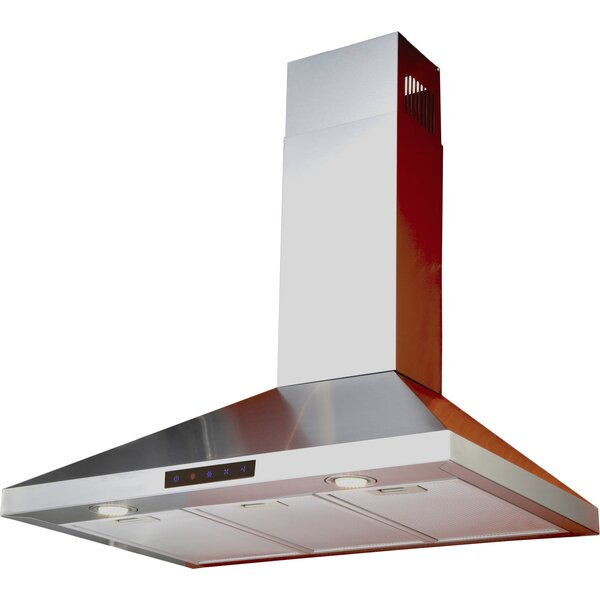 30 412 CFM Convertible Wall Mount Range Hood by Kitchen Bath Collection
