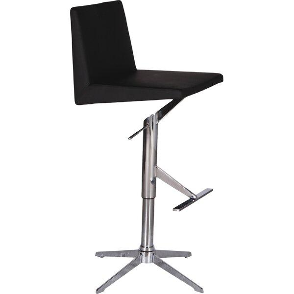 Ethan Adjustable Height Swivel Bar Stool by Bellini Modern Living