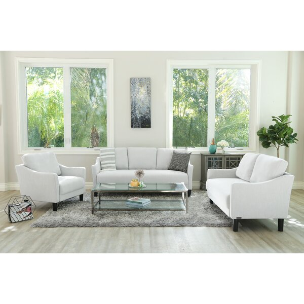 Best #1 Buckwalter 3 Piece Living Room Set By Charlton Home Herry Up