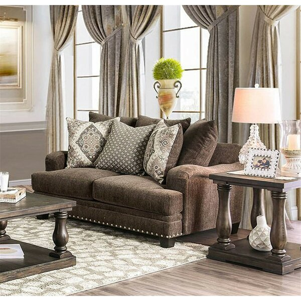 New Chic Emsworth Loveseat by Canora Grey by Canora Grey