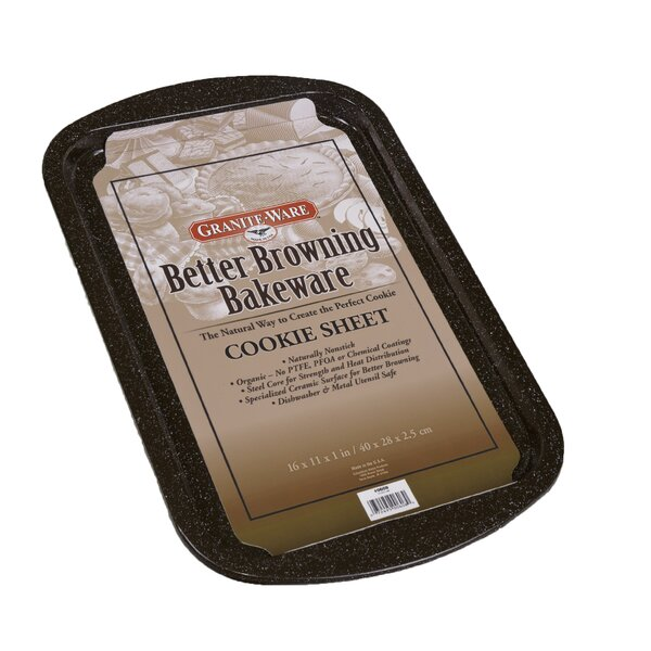 Better Browning Non-stick 4 Piece Bakeware Set by Granite Ware