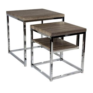2 Piece Nesting Tables by Sagebrook Home