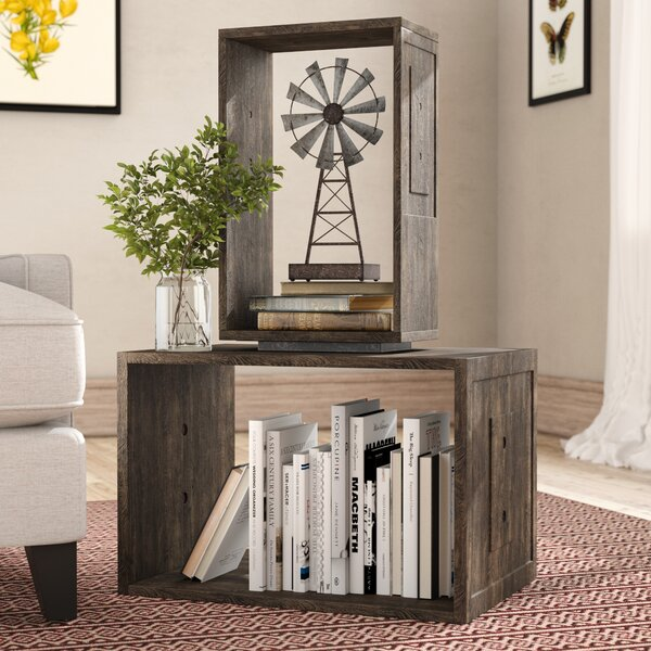 Cherryford Geometric Bookcase by Gracie Oaks Gracie Oaks