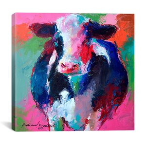 'Cow II' Graphic Art on Canvas by East Urban Home