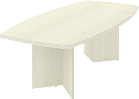 Mariana Boat shaped 30.4H x 47.5W x 96L Conference Table by Wade Logan