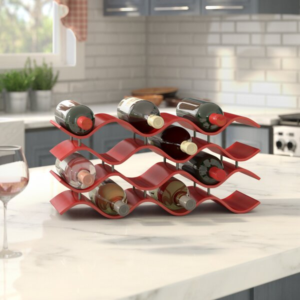 Bellas 12 Bottle Countertop Wine Bottle Rack by Wade Logan