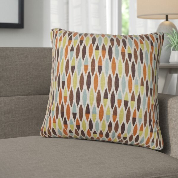 Paulina Geometric Cotton Throw Pillow (Set of 2) by Corrigan Studio