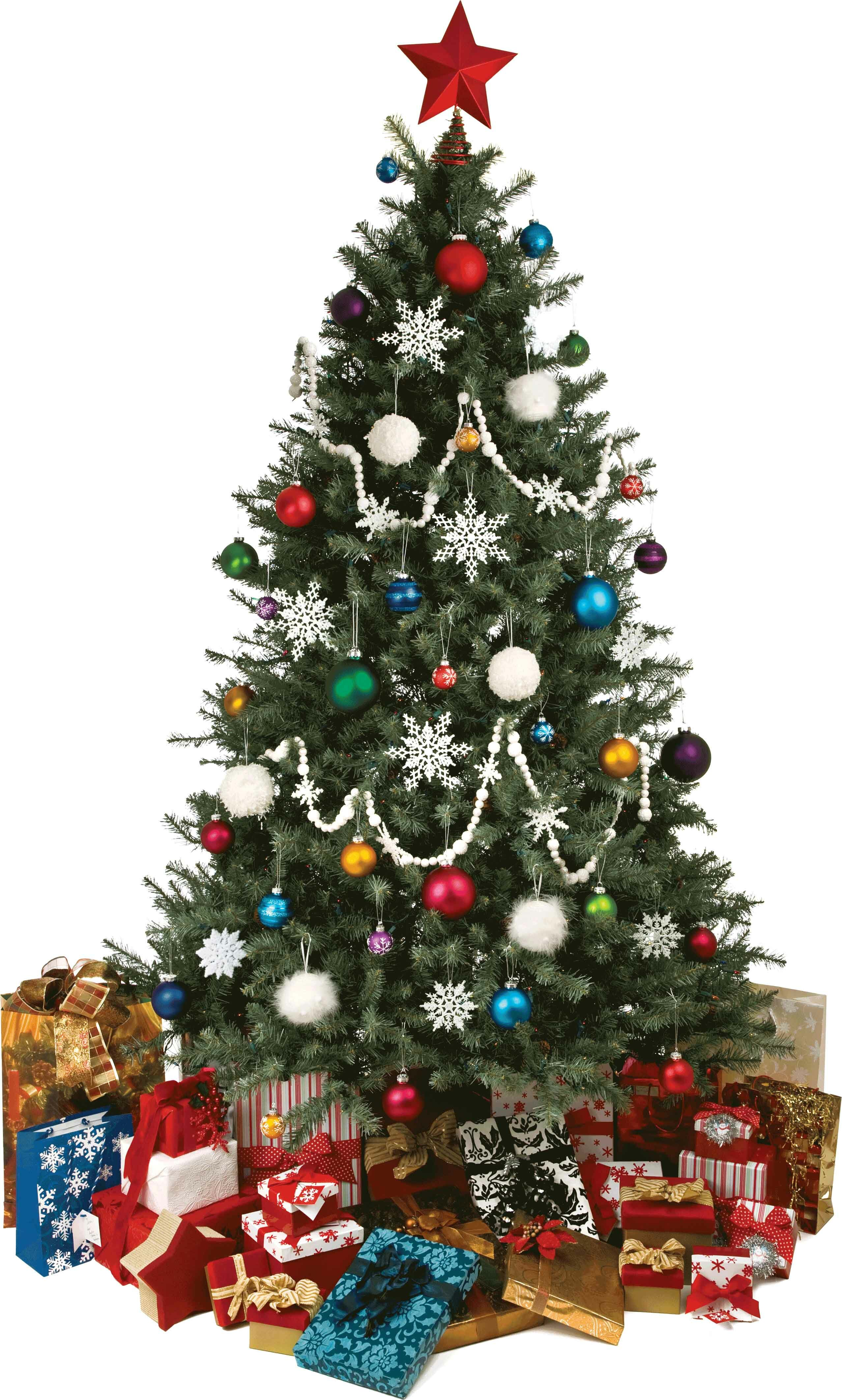 Christmas Tree Cutout.Christmas Tree Cutout Wall Decal