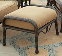 Jared Ottoman with Cushion by World Menagerie