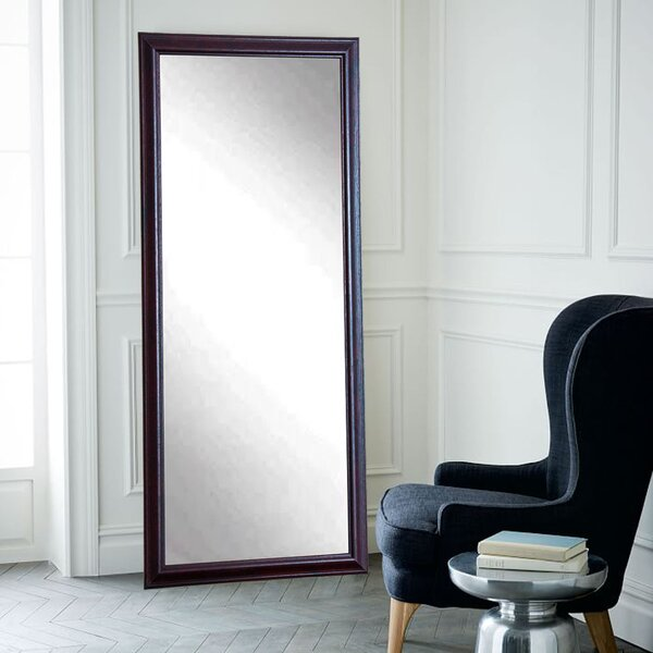 Burgundy Fair Wall Mirror by Brandt Works LLC