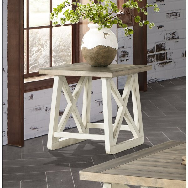Charley End Table By Highland Dunes
