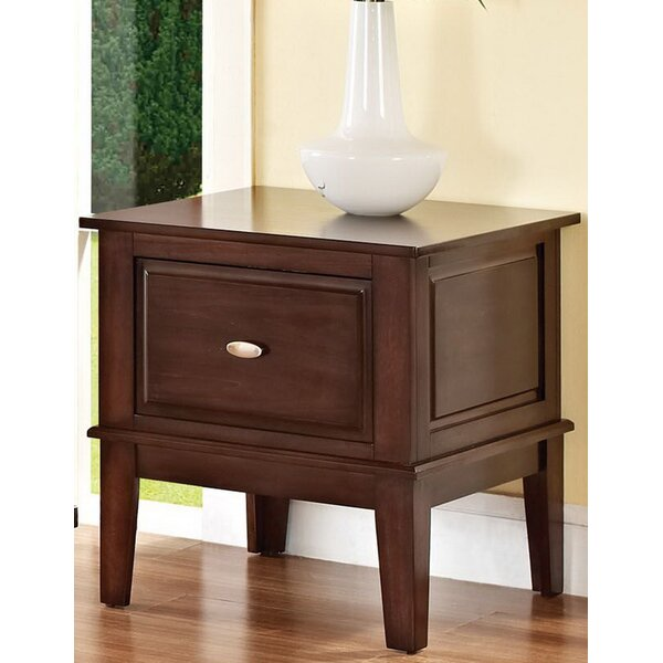 Tobby End Table with Storage by Andrew Home Studio