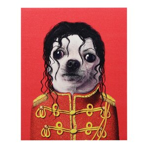 Pets Rock™ Pop Graphic Art on Wrapped Canvas by Empire Art Direct