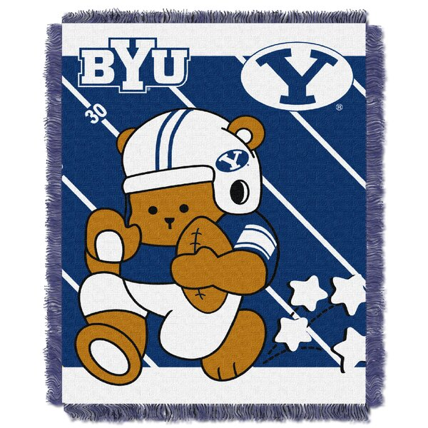 Collegiate BYU Baby Blanket by Northwest Co.
