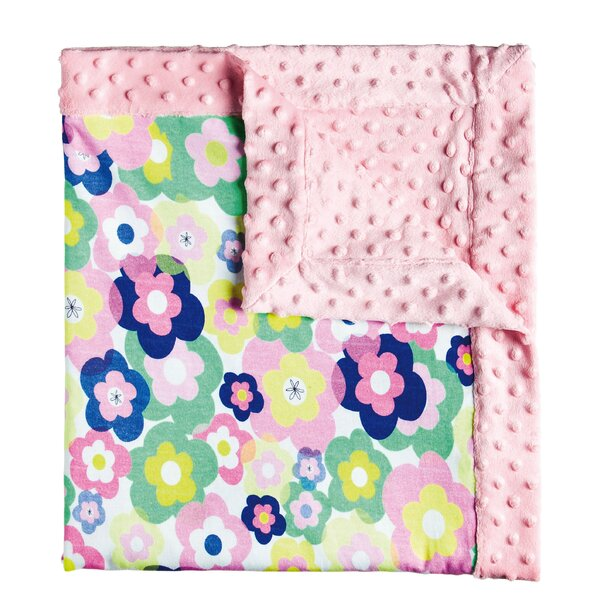 Uri Floral Dot Blanket by Bloomsbury Market