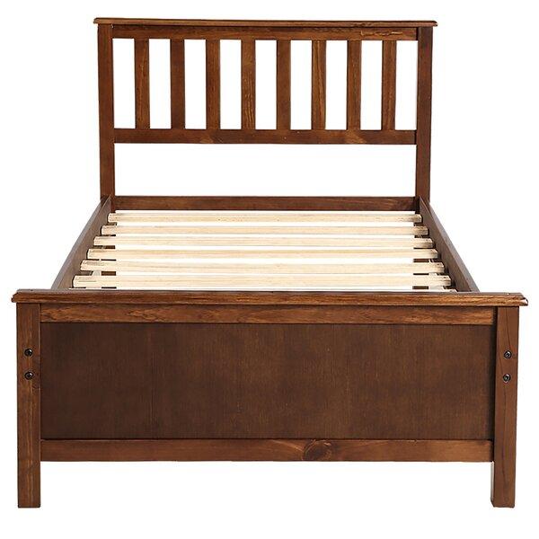 Chowchilla Wood Twin Platform Bed by Ebern Designs