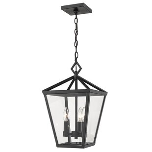 Comparison Adelaide 4-Light Outdoor Hanging Lantern By Gracie Oaks